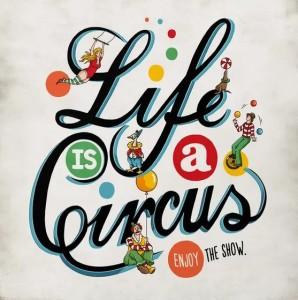 Life is a Circus Recital 2020 Logo